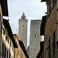San Gimignano Italy by Victoria Lakes