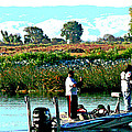 San Joaquin River Fish'n by Joseph Coulombe
