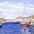 San Jose Marina by Margaret Merry