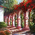 San Juan Capistrano Mission by Gail Salitui