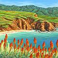 San Mateo Springtime by Jane Girardot