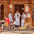 San Miguel - Waiting For Customers by Lindley Johnson