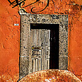 San Miguel Allende Door by Jose Maldonado