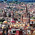 San Miguel De Allende by Claude LeTien