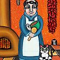 San Pascual And Felix by Victoria De Almeida