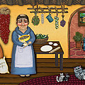 San Pascuals Kitchen 2 by Victoria De Almeida