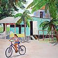 San Pedro Cafe by Patricia Beebe