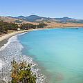 San Simeon Bay by Lynn Bauer