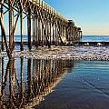 San Simeon Pier by Joseph Amanzio