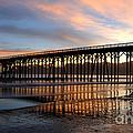 San Simeon Pier by Vivian Christopher