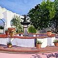 San Xavier Courtyard by Julia RIETZ