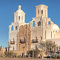San Xavier Del Bac Mission II by Clarence Holmes
