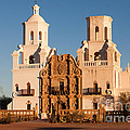 San Xavier Del Bac Mission IIi by Clarence Holmes