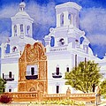 San Xavier Mission by Julia RIETZ