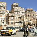 Sanaa Old Town In Yemen by Jacek Malipan