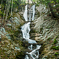 Waterfall - Sanctuary At Savoy Mountain by JG Coleman