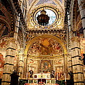 Sanctuary Duomo Siena by Christiane Schulze Art And Photography
