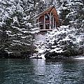 Sanctuary In Winter by Rick and Dorla Harness