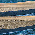 Sand And Water Textures Abstract by Ed Gleichman