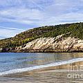 Sand Beach Acadia by John Greim