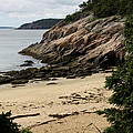 Sand Beach Acadia Park by Christiane Schulze Art And Photography