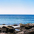 Sand Beach Rocky Shore   by Lars Lentz