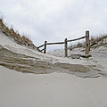 Sand Dune And Fence by Mother Nature