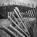 Sand Fence by Clarence Burke