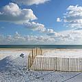 Sand Fence by Ellen Paull