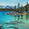 Sand Harbor by Darice Machel McGuire