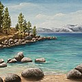 Sand Harbor Lake Tahoe by Darice Machel McGuire
