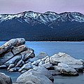 Sand Harbor Rocks by Maria Coulson