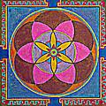 Sand Mandala by Maya B