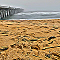 Sand On The Beach by Alice Gipson