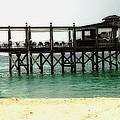 Sandals Resort Nassau Pier by Luther Fine Art