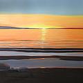 Sandbars Georgian Bay  by Cynthia Blair