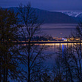131112a-110 Sandpoint After Dusk by Albert Seger