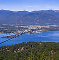 Sandpoint From Trail 3  -  110923-021 by Albert Seger
