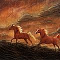 Sandstone Sunset by Melinda Hughes-Berland