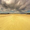 Sandy Beach, Scotland by John Short