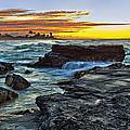 Sandy Beach Sunrise by Marcia Colelli