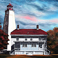 Sandy Hook Lighthouse by Daniel Carvalho