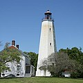 Sandy Hook Lighthouse IIi - N  J by Christiane Schulze Art And Photography