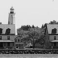Sandy Hook New Jersey Lighthouse by Lilliana Mendez