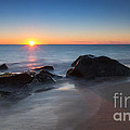 Sandy Hook Sunburst by Michael Ver Sprill