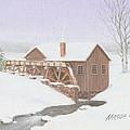 Sandy Spring Grist Mill by Mark Massie
