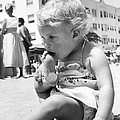 Sandy Toes For Lunch by Underwood Archives
