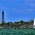 Sanibel Lighthouse by Richard Gripp