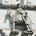 Sankt Martin Statue Lucca by Christiane Schulze Art And Photography