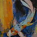 Sanshoku Koi by Michael Creese